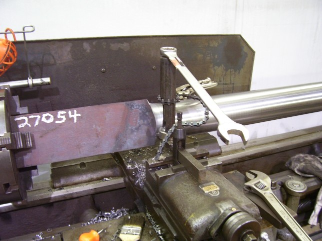 Thread: Radius cutting on a manual lathe?