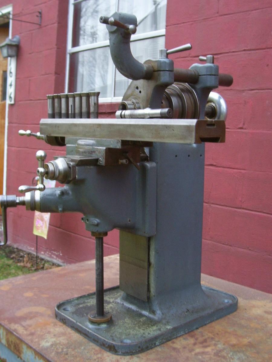 Pratt Whitney No 3 Universal Bench Milling Machine For Sale