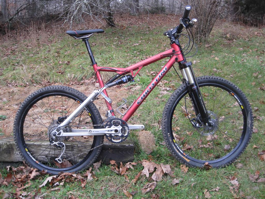 Christini Technologies Two Wheel Drive Mountain Bike Xt Mavic Ust