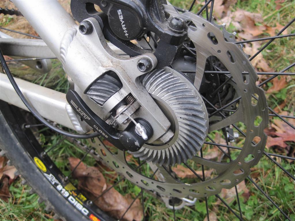 Christini Technologies Two Wheel Drive Mountain Bike Xt