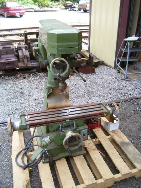 Cnc Machine For Sale >> 1981 Jet benchtop mill for sale w/collets, ect.