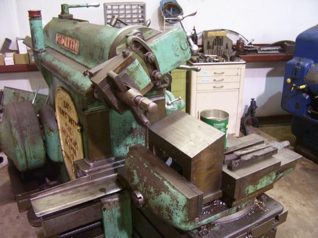 machine shop shaper