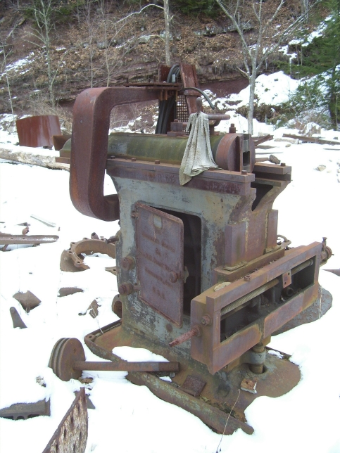 "Drill Press Guard >> 24"" Cincinnati shaper, and the fabricators of Pardee & Curtin Lumber Company"